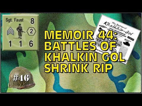 Memoir 44 Battles of Khalkhin Gol Shrink Rip