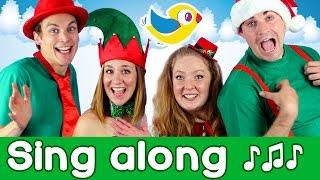 Sing along Jingle Bells, with lyrics! Kids Christmas songs