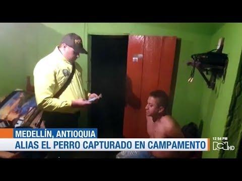 Capturan a alias El Perro, cabecilla del ELN en Antioquia
