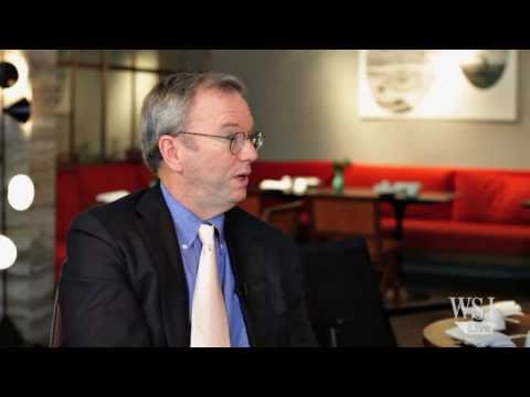 Interview with Google's Executive Director Eric Schmidt (2014)
