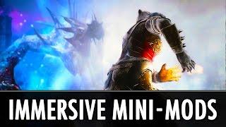 Skyrim Mods: Immersive Mini-Mods
