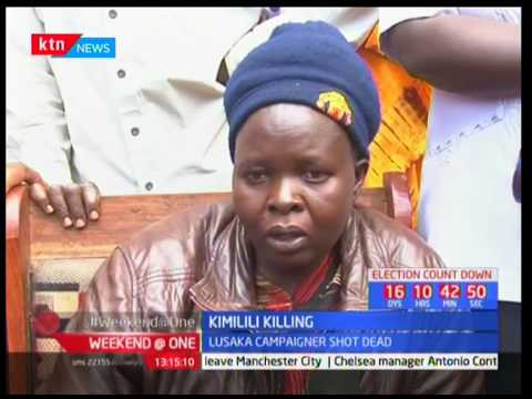 Governor Kenneth Lusaka's campaigner businessman Robert Baraza killed in his Kimilili home