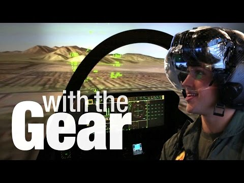 X-Ray Helmet, Virtual F-35