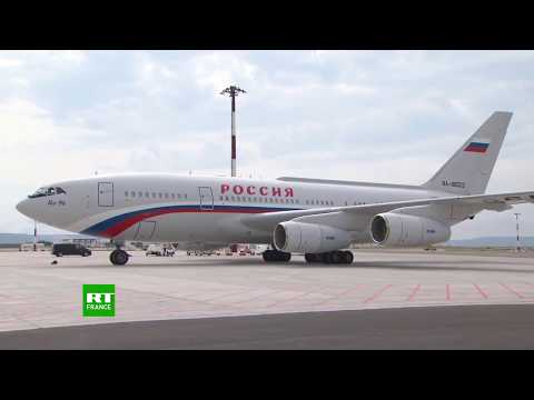 Vladimir Poutine arrive à Marseille