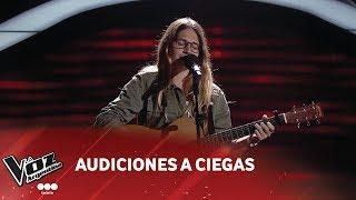 "Lucila Ruiu - ""Lost Stars"" - Adam Levine - Audiciones a ciegas - La Voz Argentina 2018"