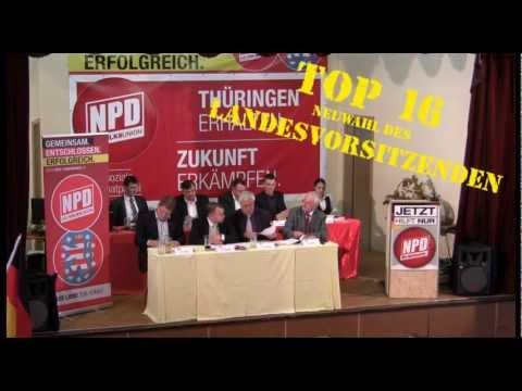 NPD Thüringen / Landesparteitag 2012 (TOP 16/1) / 12.05.2012