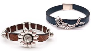 How-To Jewelry Tutorial: Leather Bracelets 101