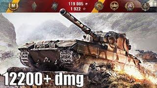 FV215b (183) ваншотит врагов 12200+ dmg World of Tanks лучший бой