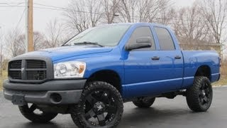 "2008 Dodge Ram 1500 4X4 22"" ROCKSTAR WHEELS 33K MILES! SOLD!!!"
