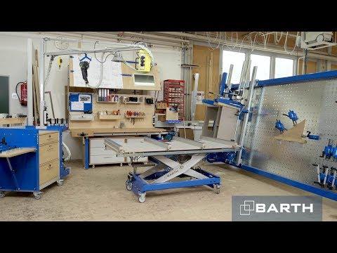 Innovative Systeme für den Arbeitsplatz von BARTH