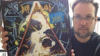 First Look and Review Def Leppard Hysteria 30th Anniversary Ltd Orange 2LP Vinyl