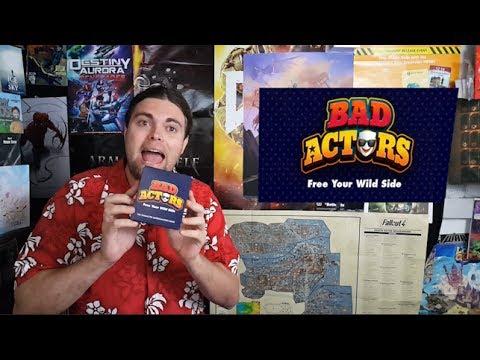 Bad Actors - Kickstarter Board Game Review