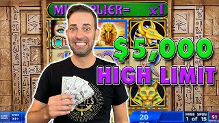 💸 $5,000 Bonus or Broke: 3x High Limit Games