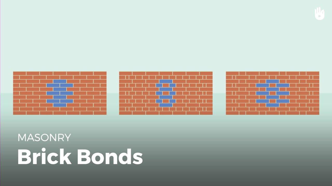 Brick Bonds How To Be A Mason Sikana