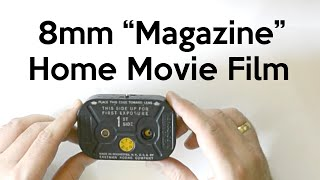 8mm Magazine Home Movie Film Overview
