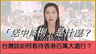 【瑩真律師】台灣該如何看待香港百萬大遊行?