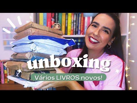 UNBOXING: RECEBI V�RIOS LIVROS DAS EDITORAS | Ana Carolina Wagner