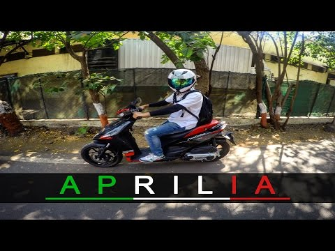 Vlog#21 | Riding Aprilia Sr150 | Speed Test | Review