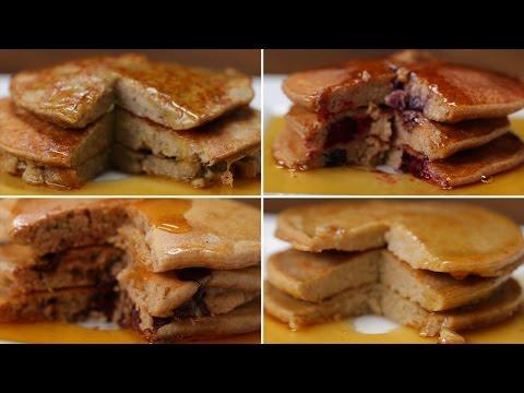 Video Nutritious Pancakes 4 Ways