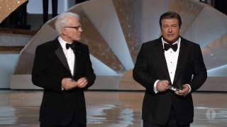 Steve Martin and Alec Baldwin's Opening Monologue: 2010 Oscars