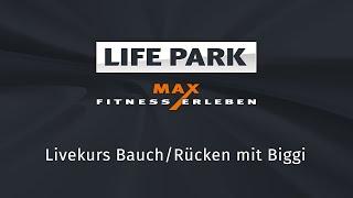 Bauch/Rücken mit Biggi (Livemitschnitt vom 30.4.2020)
