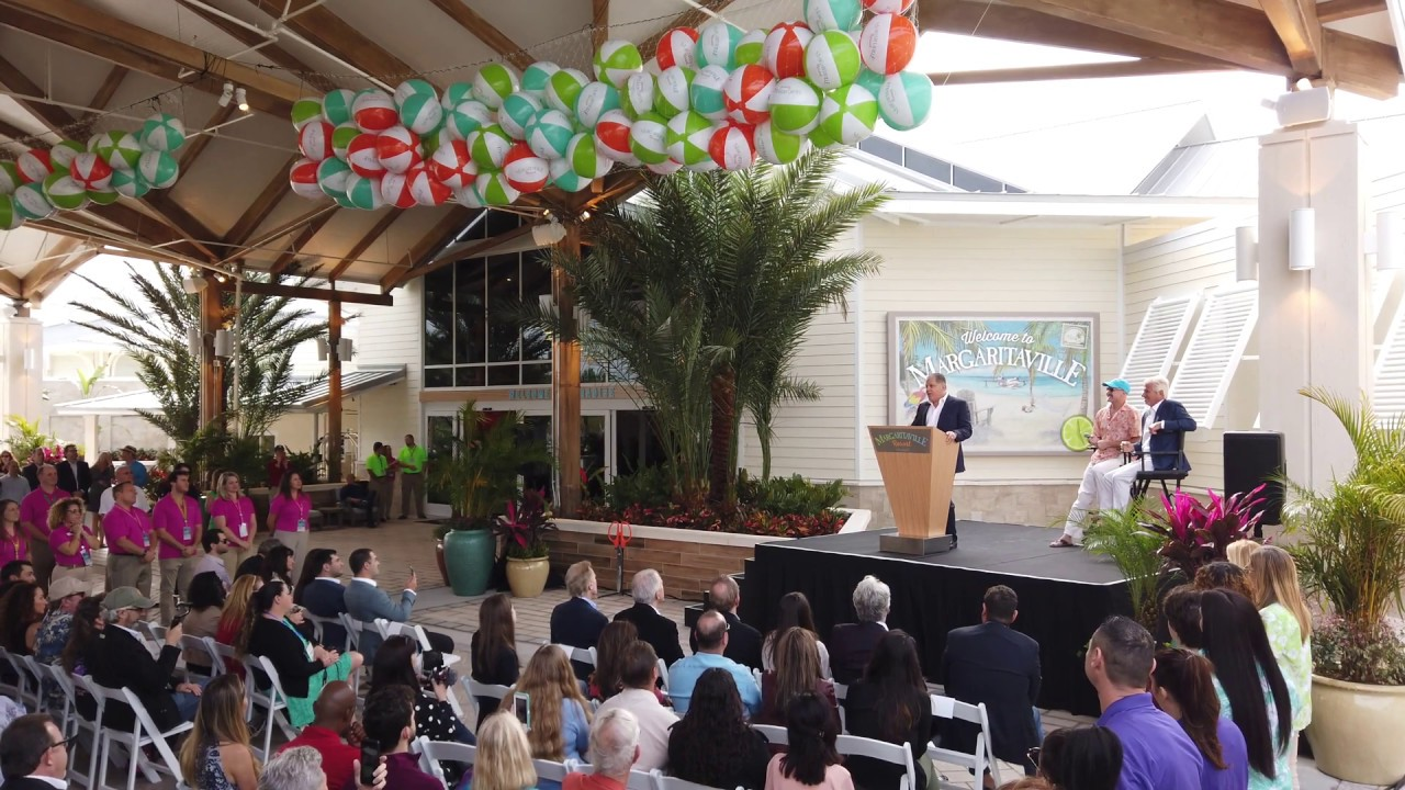 Margaritaville Resort Orlando ribbon cutting