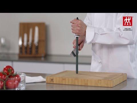 Messer schärfen mit dem Wetzstahl – So geht's  – ZWILLING J.A. Henckels