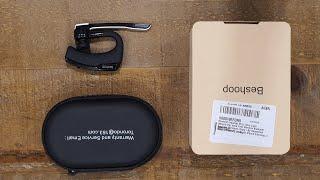 Beshoop Bluetooth 5.0 Headset Unboxing
