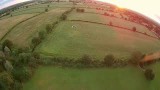 More RC Plane chasing with FPV Quad, Cinematic of