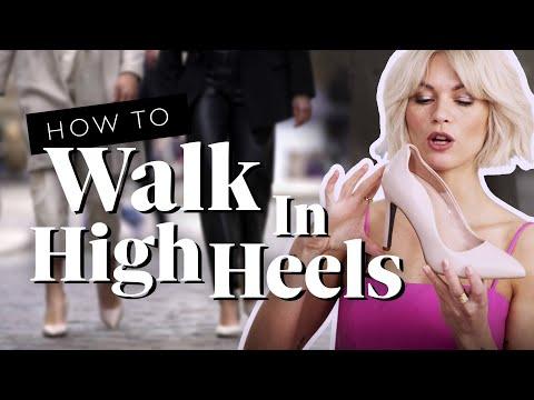 Richtig laufen in High Heels: So wird die Stadt zum Laufsteg