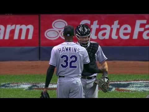 Diamond Stories: LaTroy Hawkins' 1000th MLB appearance