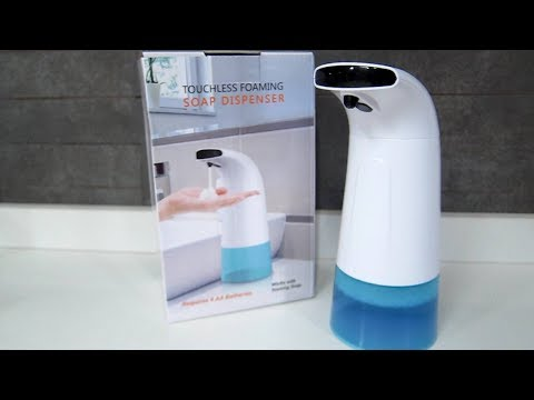 Touchless Foaming Soap Dispenser from Banggood