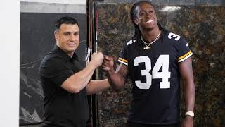 Behind the Scenes: Armina Stone's Commercial with Terrell Edmunds