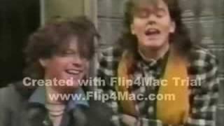 John Taylor & Andy Taylor on MTV circa 1985