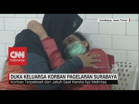 Duka Keluarga Korban Penonton Pagelaran 'Surabaya Membara'