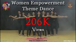 Women Empowerment Theme Dance. Choreographed by Step Up Dance & Events.