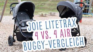Joie Litetrax 4 oder 4 Air: Welcher ist besser? Buggy-Vergleich - Erfahrungsbericht | Babyartikel.de