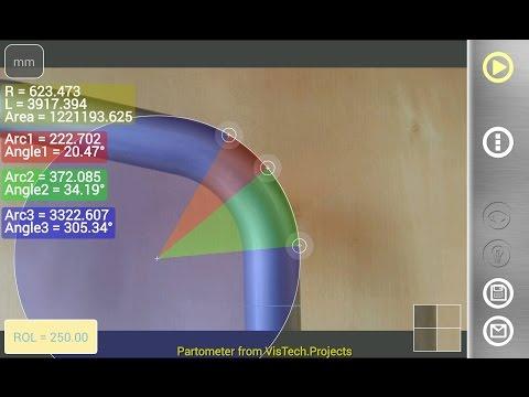 Video of Partometer - camera measure