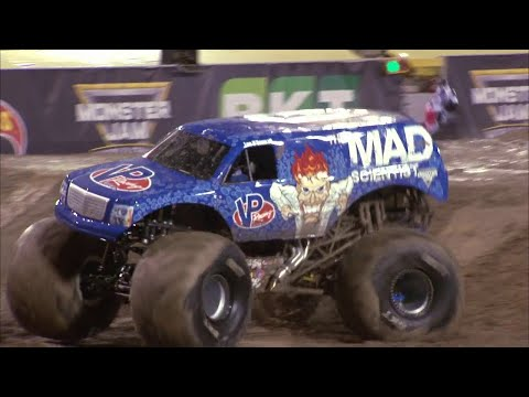 First ever Monster Jam Truck front flip