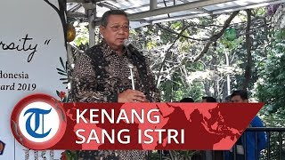 Kenang Dedikasi Sang Istri terhadap Lingkungan, SBY Ceritakan Momen Bercocok Tanam