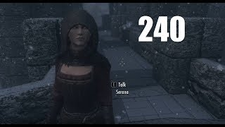 Skyrim Modded Playthrough (1440p) (240) - The Reaper