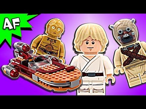 Vidéo LEGO Star Wars 75173 : Luke's Landspeeder