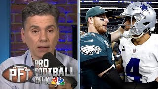 The impact of Carson Wentz's new contract on other quarterbacks | Pro Football Talk | NBC Sports