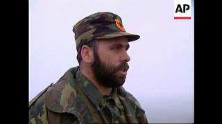 SERBIA: UCPMB COMMANDER AZEMI SPEAKS TO APTN
