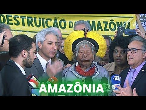 Cacique Raoni rebate críticas de Bolsonaro - 25/09/19