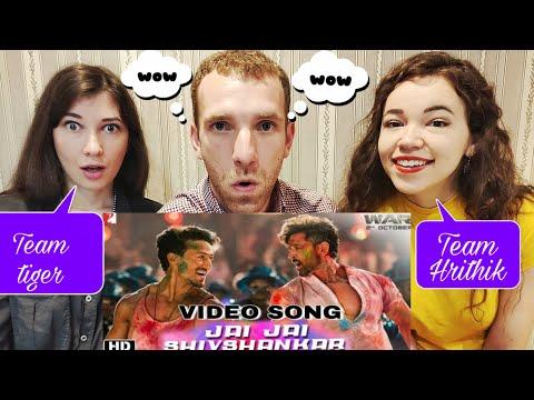 Jai Jai Shivshankar   Hrithik Roshan   Tiger Shroff   Music Video   WAR   Reaction !!!
