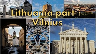 preview picture of video 'TRIP VLOG: Vilnius (Old Town) || Вильнюс (Старый город)'