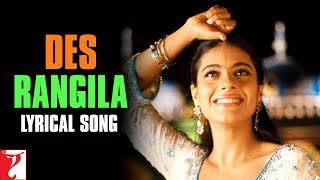 Lyrical: Des Rangila Song with Lyrics | Fanaa | Aamir Khan