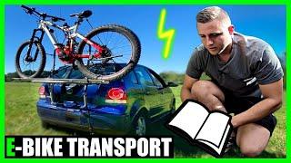 Fahrradträger ohne Anhängerkupplung und Dachreling montieren | PAT