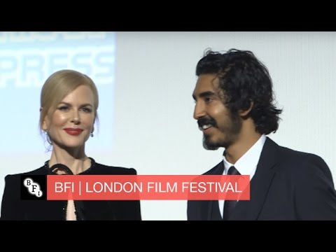 Video trailer för A roaring success: Nicole Kidman and Dev Patel introduce Lion at the London film festival